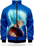 Veste Survêtement DBZ - Goku Super Saiyan Blue