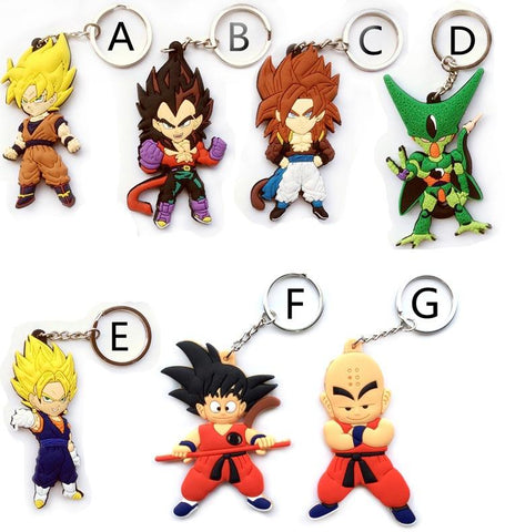 Porte-Clef Dragon Ball Z Mini Figurines