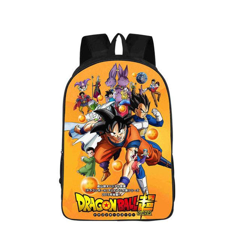 sac à dos dragon ball super