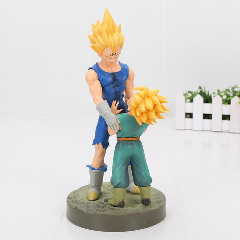 Figurine Dragon Ball Z Majin Vegeta et Trunks