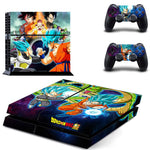 Stickers PS4 Dragon Ball Super Vegeta Son Goku