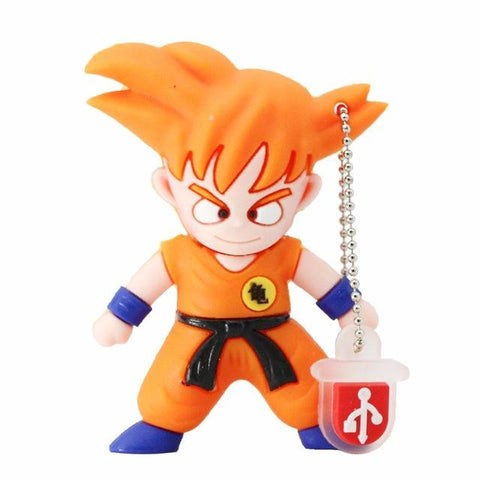 Clef USB Dragon Ball Goku SSJ1 (16 - 32 - 64 - 128GB)