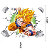 Sticker Mural DBZ