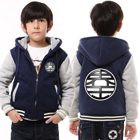 Manteau Dragon Ball Z Enfant