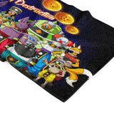 Serviette Dragon Ball</br> Dieux de la Destruction