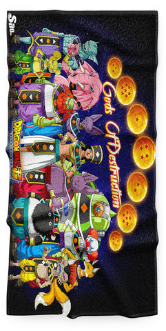 Serviette Plage Dragon Ball Super