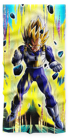 Serviette Vegeta Super Saiyan