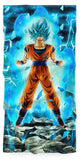 Serviette Goku Super Saiyan Blue