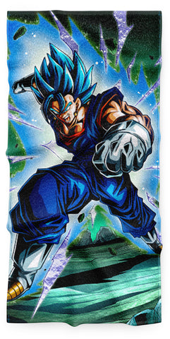 Serviette Dragon Ball Vegeto Blue