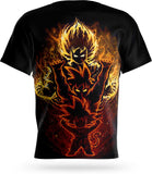 T Shirt Goku Evolution