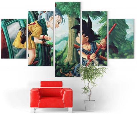 Chambre Dragon Ball Z