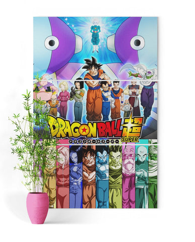 Tableau Dragon Ball Super</br> Zen'o