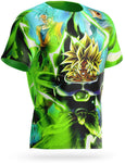 T Shirt Broly Dragon Ball Super