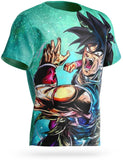 T Shirt Broly Guerrier Indomptable