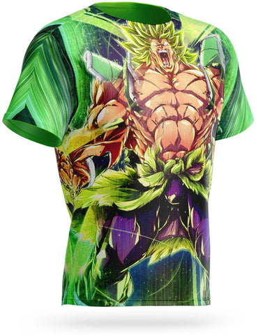 T Shirt Broly Puissance Incontrolable