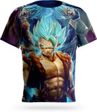 T-Shirt Dragon Ball<br/> Gogeta Super Saiyan Blue