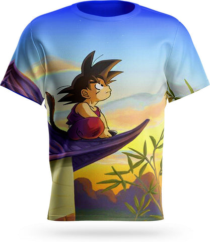T-Shirt Dragon Ball<br/> Son Goku Petit