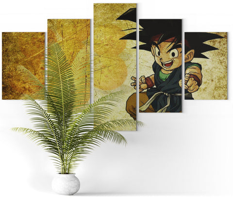 Toile Sangoku Dragon Ball GT