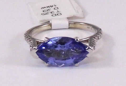 Samantha Tanzanite Ring