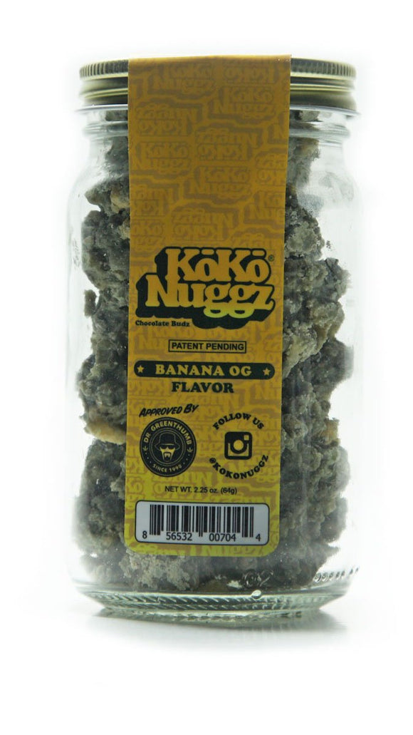 koko nuggz banana og flavor chocolate original bud country online headshop