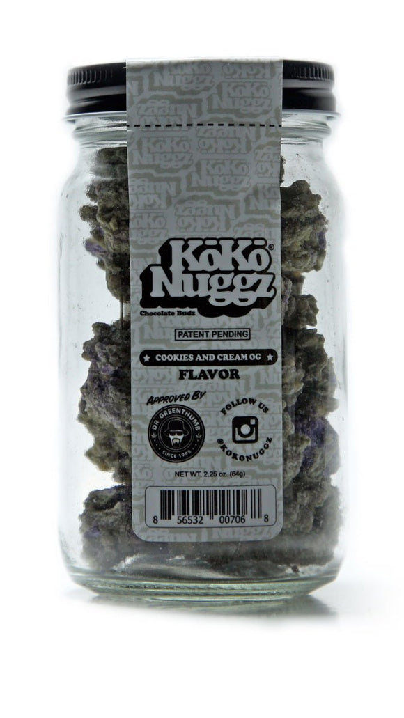 Koko Nuggz Cookies and Cream OG Flavor Chocolate Original Bud Country Online Headshop