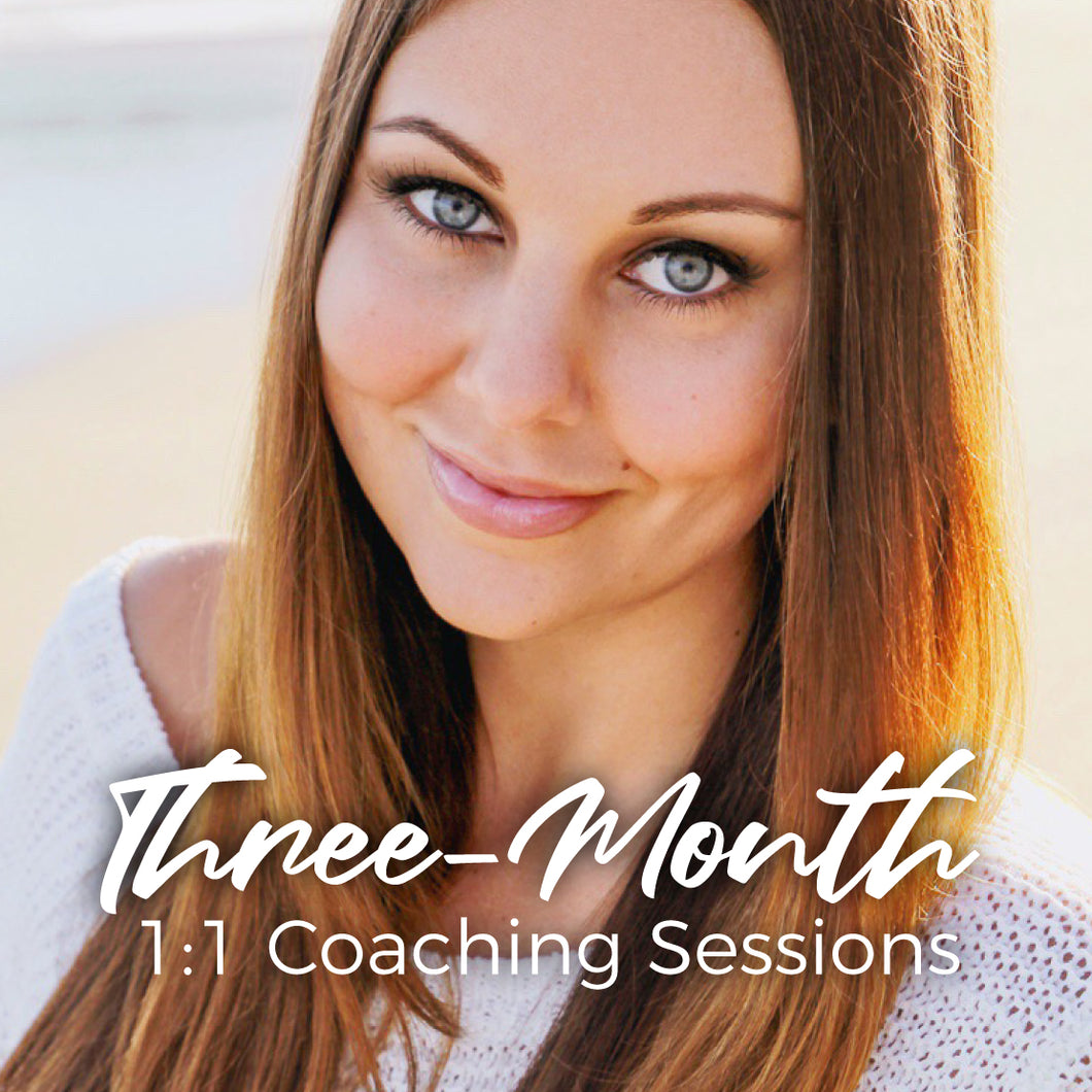 3-Month 1:1 Coaching Sessions