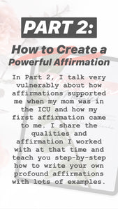 Affirmation Magic eBook