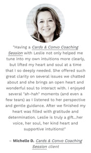Cards & Convo Coaching Session