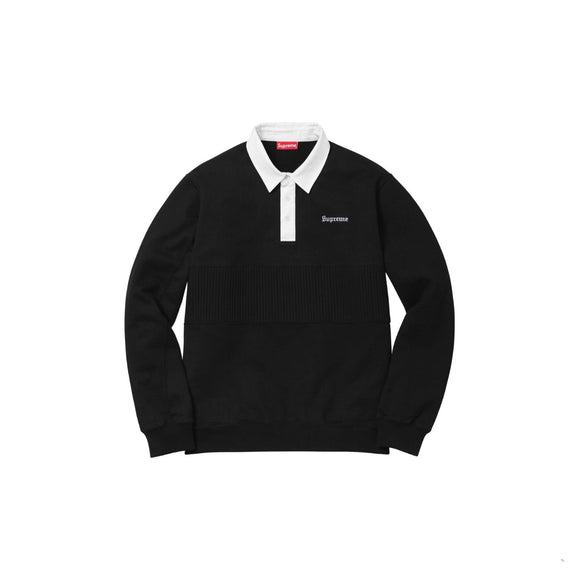 Supreme Rugby Polo Long Sleeve