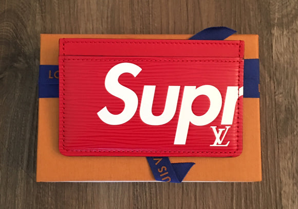Louis Vuitton x Supreme Porte Carte Simple
