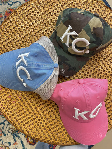 Embroidered KC Hat