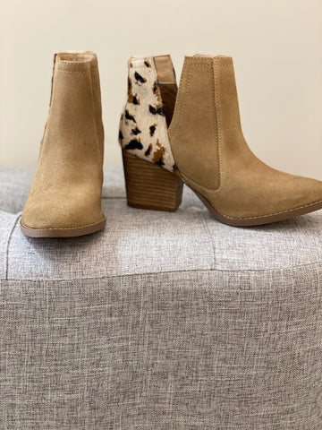 Naughty Monkey Camilyn Booties - Tan