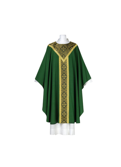101-0315 CHASUBLE GREEN
