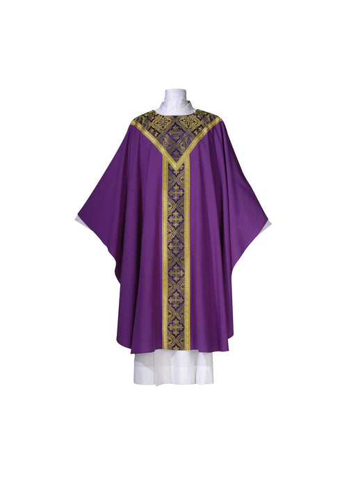 101-0315 CHASUBLE PURPLE