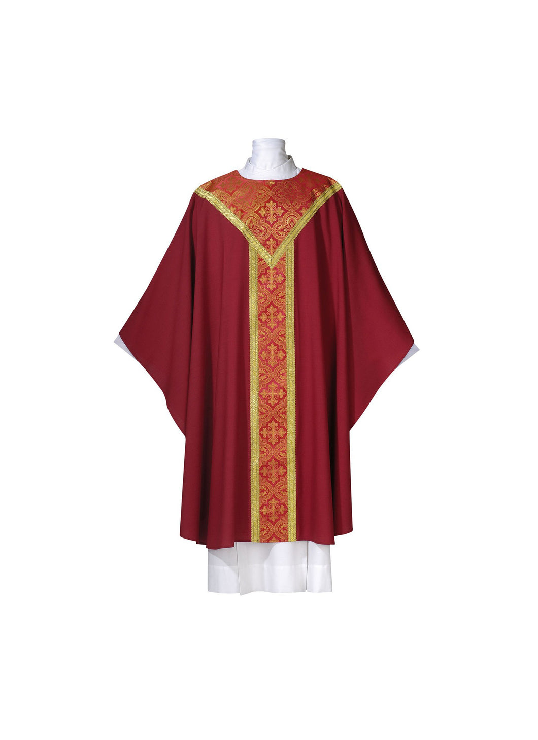 101-0315 CHASUBLE RED