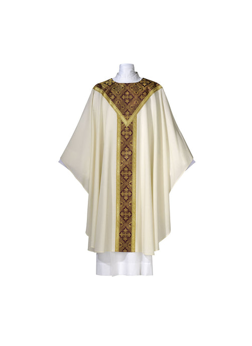 101-0315 CHASUBLE WHITE