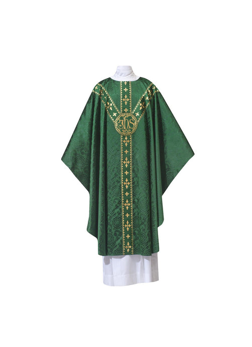 101-0930 CHASUBLE GREEN