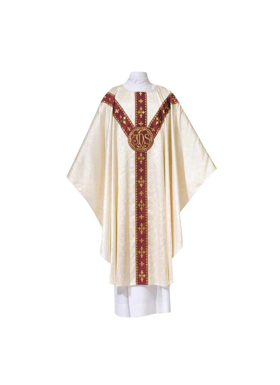 101-0930 CHASUBLE WHITE