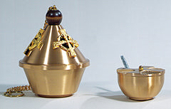 25CEN16 CENSER AND BOAT SET