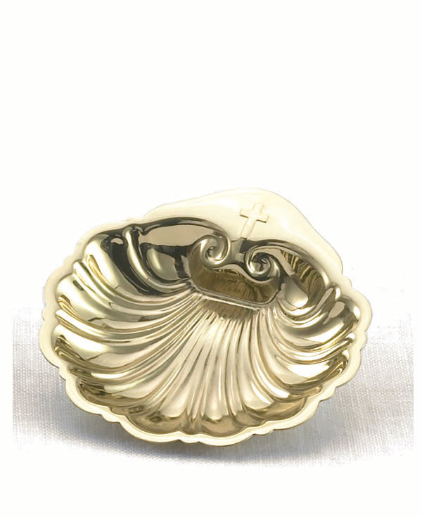 7661B BAPTISMAL SHELL