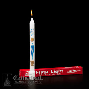 FIRST LIGHT BAPTISM CANDLE