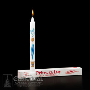 PRIMERA LUZ BAPTISM CANDLES