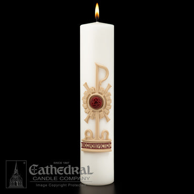 Holy Trinity Christ Candle