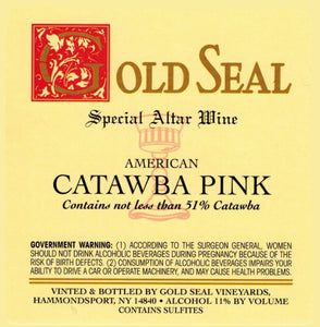 GOLD SEAL American Catawba Pink Altar Wine