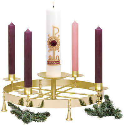 K604 ADVENT WREATH