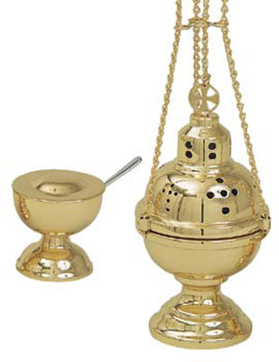 K701 CENSER AND BOAT SET
