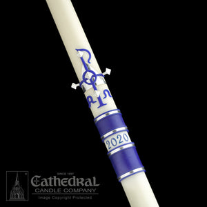 """NEW"" MESSIAH PASCHAL CANDLE"