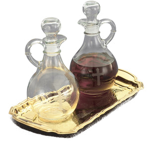 T86B Glass Cruet Set