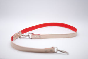 3-way Leash in Red