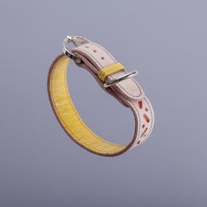 Bauhaus Collar - Red